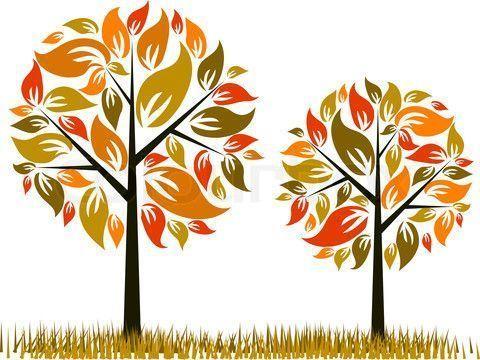 fall tree illustration Fall Fall Tree Illustration