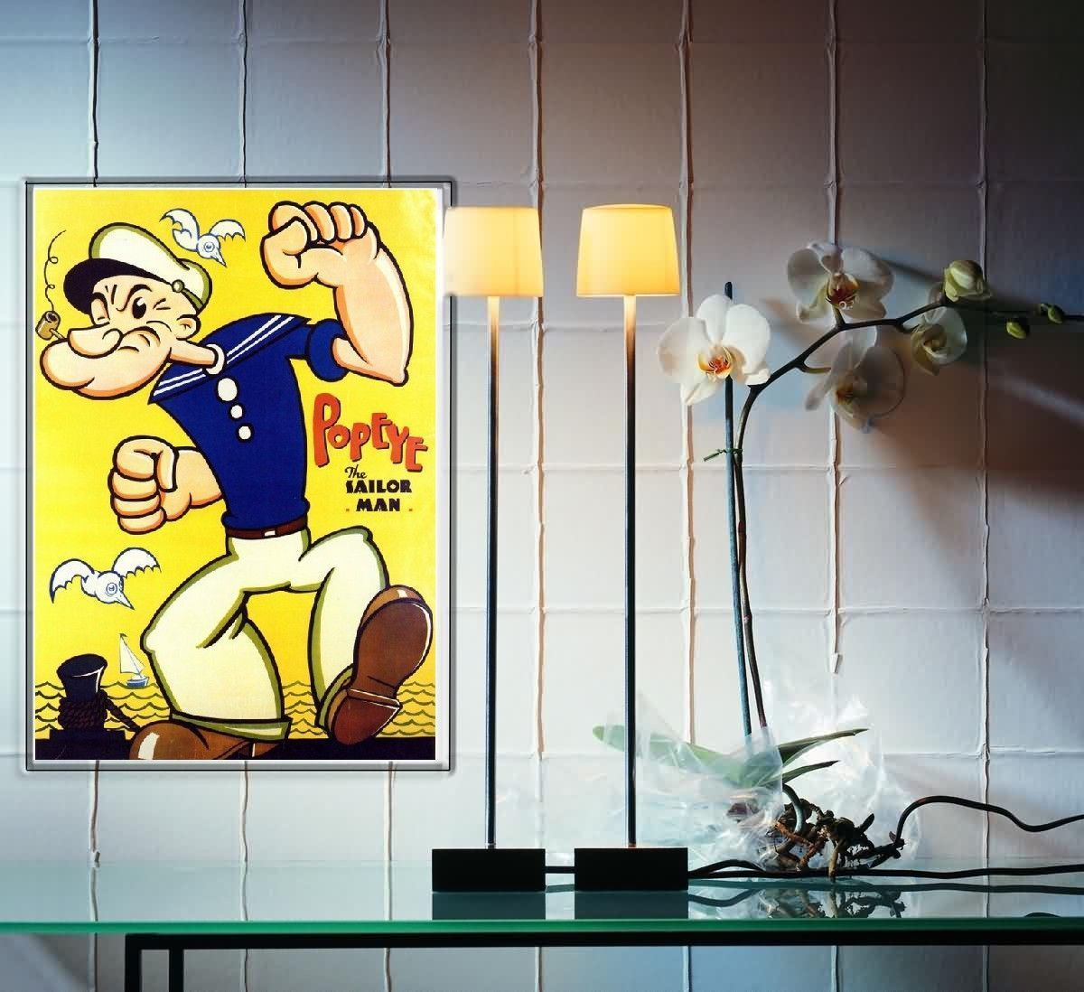 popeye dans mon bureau. Black Bedroom Furniture Sets. Home Design Ideas